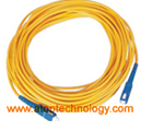Fiber optic cable, patch cords